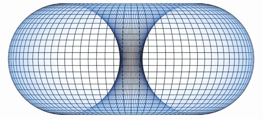 3d image Net framework of a torus